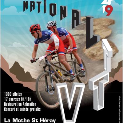 Affiche national vtt 2019