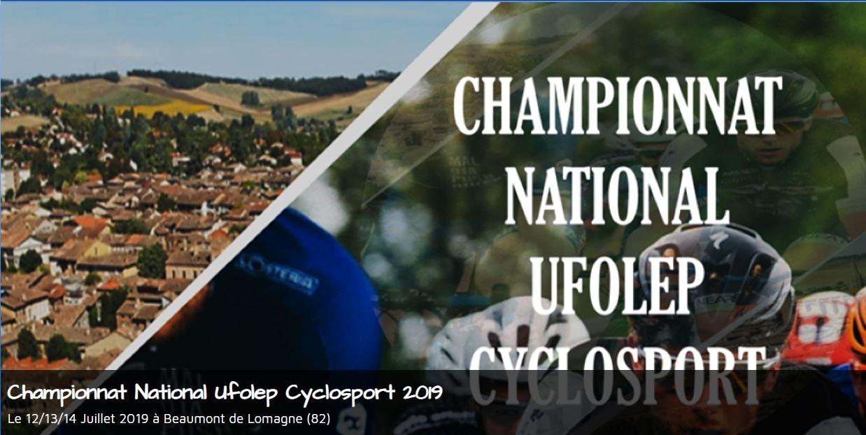 National ufolep cyclosport 2019
